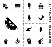 tasty icon. collection of 13...   Shutterstock .eps vector #1127469275