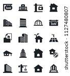 set of vector isolated black... | Shutterstock .eps vector #1127480807