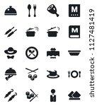 set of vector isolated black...   Shutterstock .eps vector #1127481419