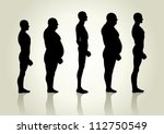 silhouette illustration of men... | Shutterstock .eps vector #112750549