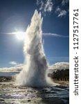 geysir destrict in iceland.the...   Shutterstock . vector #1127517761
