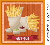 fast food concept | Shutterstock .eps vector #1127522714