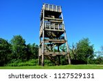 Observation tower at highest point in Waukesha County in Wisconsin.