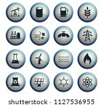 power generation vector icons...   Shutterstock .eps vector #1127536955