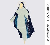 distressed vector illustration  ... | Shutterstock .eps vector #1127568884