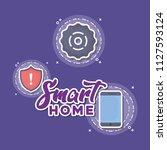 smart home design | Shutterstock .eps vector #1127593124