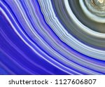 amazing violet agate crystal... | Shutterstock . vector #1127606807