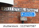 jul 5 2018. salisbury uk....   Shutterstock . vector #1127607587