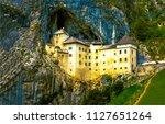 Castle In Postojna Cave In...