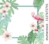 tropical vector illustration...   Shutterstock .eps vector #1127672741