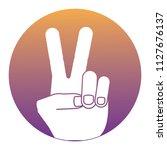 peace symbol design | Shutterstock .eps vector #1127676137