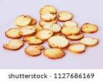 toasted bread   italian...   Shutterstock . vector #1127686169