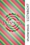 offspring christmas style...   Shutterstock .eps vector #1127686247