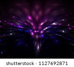 abstract beautiful bright... | Shutterstock . vector #1127692871