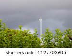 the radio transmitter under the ... | Shutterstock . vector #1127703605
