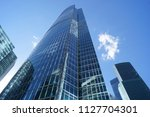 moscow. moscow city....   Shutterstock . vector #1127704301