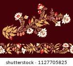 stock vector abstract flower... | Shutterstock .eps vector #1127705825