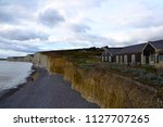 scenic view of white cliffs of... | Shutterstock . vector #1127707265