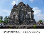 candi kalasan  ancient buddhism ...   Shutterstock . vector #1127708147