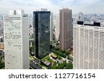 aerial view of the modern...   Shutterstock . vector #1127716154