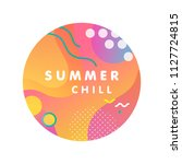 unique artistic design card  ... | Shutterstock .eps vector #1127724815