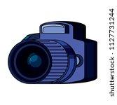 photographic camera icon | Shutterstock .eps vector #1127731244