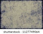grunge background of old beige... | Shutterstock . vector #1127749064
