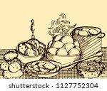 abstract vintage vector...   Shutterstock .eps vector #1127752304