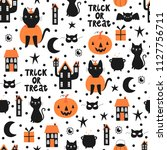 vector seamless pattern for... | Shutterstock .eps vector #1127756711