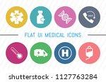 flat ui 8 color medical  ...