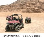 a lot of four wheeled powerful...   Shutterstock . vector #1127771081