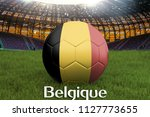 belgium on french language on... | Shutterstock . vector #1127773655