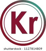 kr button for language lesson...