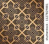 art deco pattern. seamless... | Shutterstock .eps vector #1127829881