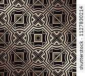 art deco pattern. seamless... | Shutterstock .eps vector #1127830214