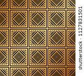 art deco pattern. seamless... | Shutterstock .eps vector #1127831501