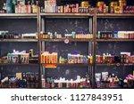 ufa  russia  south vape shop  5 ...   Shutterstock . vector #1127843951