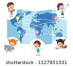 vector illustration of... | Shutterstock .eps vector #1127851331