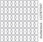geometric ornamental vector... | Shutterstock .eps vector #1127877047