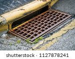 Sewer Drain Along Road