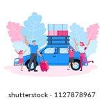 family character vector design. ... | Shutterstock .eps vector #1127878967