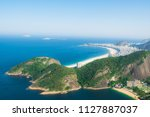 view from mountain on... | Shutterstock . vector #1127887037