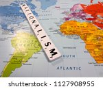reading  berkshire  england  ...   Shutterstock . vector #1127908955