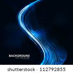 abstract bright blue colorful... | Shutterstock .eps vector #112792855