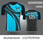 sport shirt  t shirt sport... | Shutterstock .eps vector #1127929334