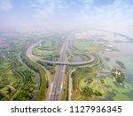 in china's jiangsu  a large... | Shutterstock . vector #1127936345