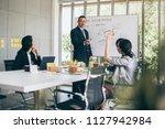 success business ideas concept... | Shutterstock . vector #1127942984
