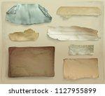 paper scraps vector...   Shutterstock .eps vector #1127955899