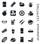 set of vector isolated black... | Shutterstock .eps vector #1127977451