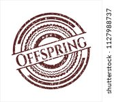 red offspring distressed rubber ...   Shutterstock .eps vector #1127988737